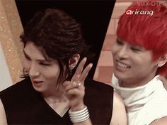 Whenever Leo has to do aegyo or the gwiyomi song he always blushes and hides his face in embarrassment and it's so cute