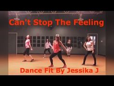 Can't Stop The Feeling -Justin Timberlake - Zumba - Dance Fitness - YouTube