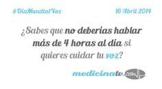Día Mundial de la Voz - MedicinaTV