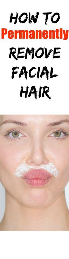 permanently remove facial hair