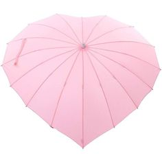 Light Pink Heart Umbrella (225 DKK) ❤ liked on Polyvore featuring accessories, umbrellas, multicolor, heart umbrella, heart shaped umbrella, lightweight umbrella, colorful umbrellas and multicolor umbrella