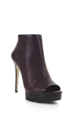 bcbg.com Hasten High-Heel Exotic Peep-Tow Bootie $295