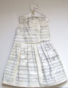 Jennifer Collier ~ paper dresses and shoes! Jennifer also runs art workshops in schools, colleges and galleries in the UK.