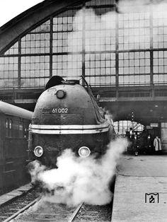 1955 Berlin Ostbahnhod D-Zug nach Dresden