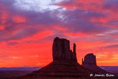 Sunrise at Monument Valley by James Bian on 500px