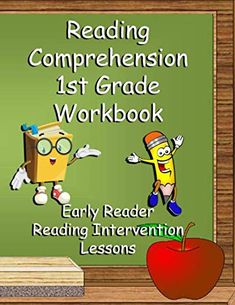 Reading Workbook: AMAZON. Perfect for homeschool classroom! 1st Grade Workbook: Early Reader Reading Intervention Lessons by Cute & Sassy Custom Gifts. #homeschool #homeschooling #reading #teaching #readingmatters Struggling Readers, Early Readers, School Trends, Preschool Special Education, Reading Intervention, Custom Gifts, School Psychology, Learning Disabilities, Book Club Books