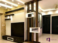 Living Room Partition Design, Room Partition Designs, Tv Unit Design, Wall Units, Design Bedroom, Ceiling Design, Kitchen Design, Arch, Divider