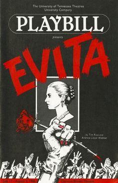 Evita (July 11-August 2, 1986)