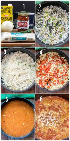 Easy Homemade Mexican Rice (Spanish Rice) - Flavor Mosaic - Mexican Rice – Spanish Rice – step by step photos of how to make - Homemade Mexican Rice, Mexican Rice Recipes, Spanish Food, Mexican Spanish, Mexican Easy, Spanish Rice Recipe, Mexican Side Dishes, Rice Dishes, Fall Dishes