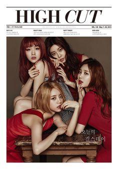 Girl's Day #Minah #Sojin #Hyeri #Yura -150507 HIGH CUT