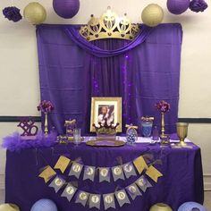 Purple Wings Events Designss Birthday Royal Queen