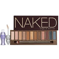 Urban Decay #Naked Palette... just got this yesterday so excited to try this... will post tutorials on my YT channel soon!