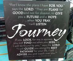 """Journey"" Plaque/Mardel"
