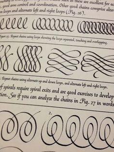 Calligraphic Flourishing