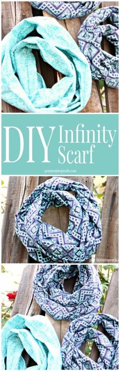 Best Sewing Projects to Make For Girls - DIY Infinity Scarf - Creative Sewing Tutorials for Baby Kids and Teens - Free Patterns and Step by Step Tutorials for Dresses, Blouses, Shirts, Pants, Hats and Bags - Easy DIY Projects and Quick Crafts Ideas http://diyjoy.com/cute-sewing-projects-for-girls