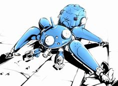 tachikoma by si jones https://www.facebook.com/CharacterDesignReferences