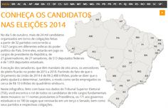 Brazil's elections: Meet the candidates Map Maker, Interactive Map, Brazil, The Past, Meet, Digital, Words, Cartography, Getting To Know
