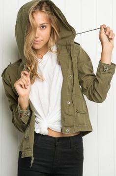 Alexis Ren for Brandy Melville - Khaki jacket