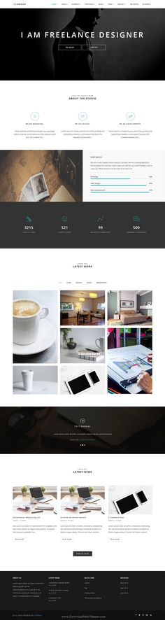 GLAMOUR is powerful multi page and one page #Drupal Theme for multipurpose #website with 60+ stunning homepage layouts. #freelancer Download Now!