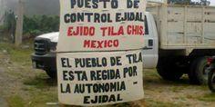 COMUNICADO DEL EJIDO TILA: sobre reportajes del Primer Aniversario de nuestra autonomía