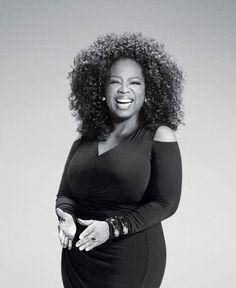 A apresentadora Oprah Winfrey entra pra lista como