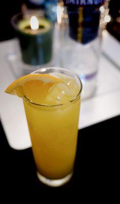 Cranberry Screwdriver drink recipe: 1.5 oz SMIRNOFF® Cranberry Flavored Vodka, 3 oz orange juice. Fill glass with ice, add vodka & orange juice; stir well. #Smirnoff #vodka #screwdriver #cranberry #orange