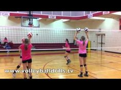 Volleyball Drill: Blocking/Transition Warmup