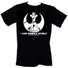 I Think I Can Handle Myself  T-Shirt Size S-4XL by SMELLYOURMUM