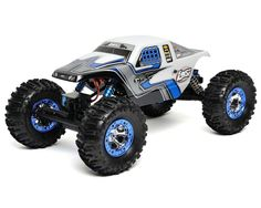Crawl under the lights with the Losi 1/10 Night Crawler RTR (White) also available in black.