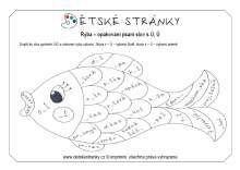 Ryba - opakování Ů,Ú