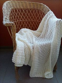 Háčkovaná letná deka