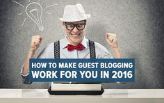 Here are the advantages of choosing guest blog posting service to advertise your new business globally through the internet.
