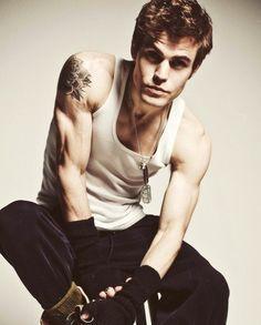 0c08d42d Vampire Diaries, Paul Wesley, I Love Him, Statue, John Wick, Creme