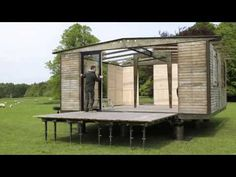 Watch an Off-The-Grid Jean Prouvé Prefab Get Built in No Time - Video Interlude - Curbed National