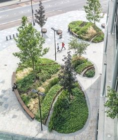 Riverlight by Gillespies « Landscape Architecture Works   Landezine #landscapingarchitecture