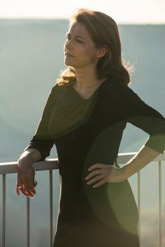 Sidse Babett Knudsen as Theresa Cullen in HBO's Westworld.
