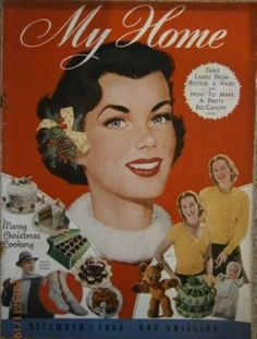 My Home magazine from December 1955