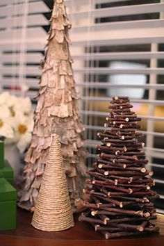 DIY rustic Christmas tree