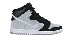 Nike SB Dunk High Black/Metallic Silver