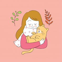 Super baby boy i Illustrations, Illustration Art, Image Chat, Funny Babies, Doodles, Cat Art, Cute Cartoon, Cute Drawings, I Love Cats