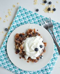 This easy cake mix recipe combines your choice of white, yellow, or vanilla cake mix with fresh blueberries, sweetened coconut, a mixture of spices, and old fashioned oats.