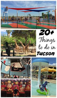 20+ fun things to do in Tucson, Arizona this summer.
