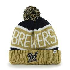 8dac1f73216 Milwaukee Brewers Cuffed Knit Hats Milwaukee Brewers