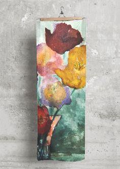 Cashmere Silk Scarf - Watercolor Space Paint by VIDA VIDA akh6V