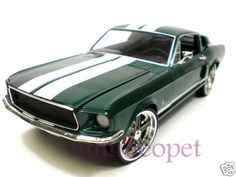 ERTL THE FAST AND THE FURIOUS 3 TOKYO DRIFT 1967 FORD MUSTANG 1/18 GREEN | eBay