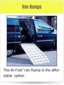 Van Ramps Provide Convenient And Easy Access Into Vans For