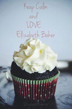 Elizabeth Baker chocolate cupcake Bakers Chocolate, Chocolate Cupcakes, Keep Calm And Love, Baking, Desserts, Food, Tailgate Desserts, Deserts, Bakken