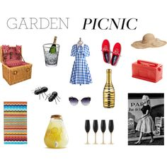 """Garden picnic"" by annelise-rb on Polyvore"