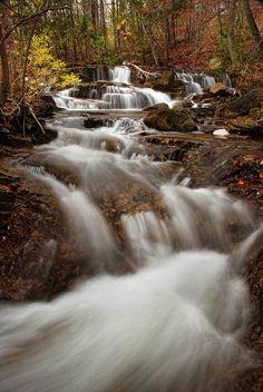 Munson Brook Falls, Manchester, Vermont