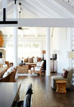 My Sweet Savannah: ~painted log interiors~